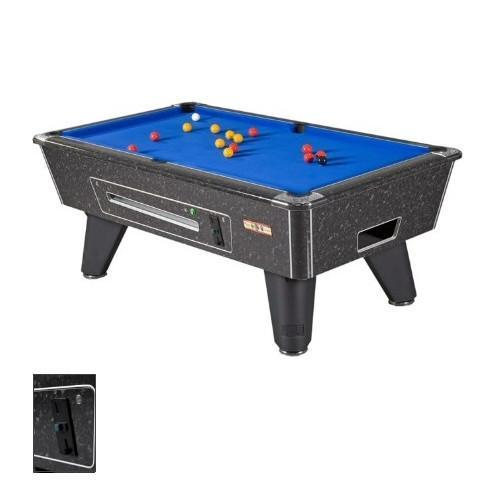 English Pool Tables - Supreme Winner Pool Table - Black Marble Hi-Gloss