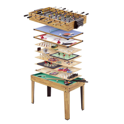 Home Leisure Tables - 34 In 1 Multigames Table