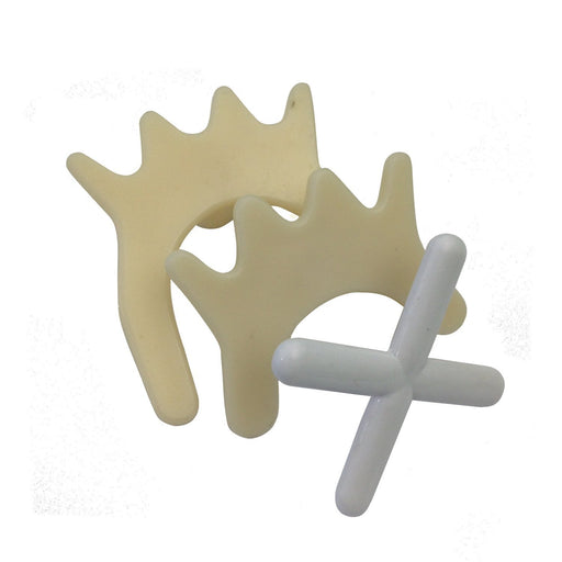Rest Heads - Nylon Cross, Butt And Spider Rest Set
