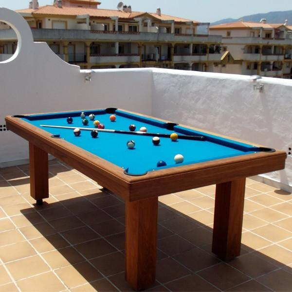 Toulet Outdoor Teck 10ft Snooker Table