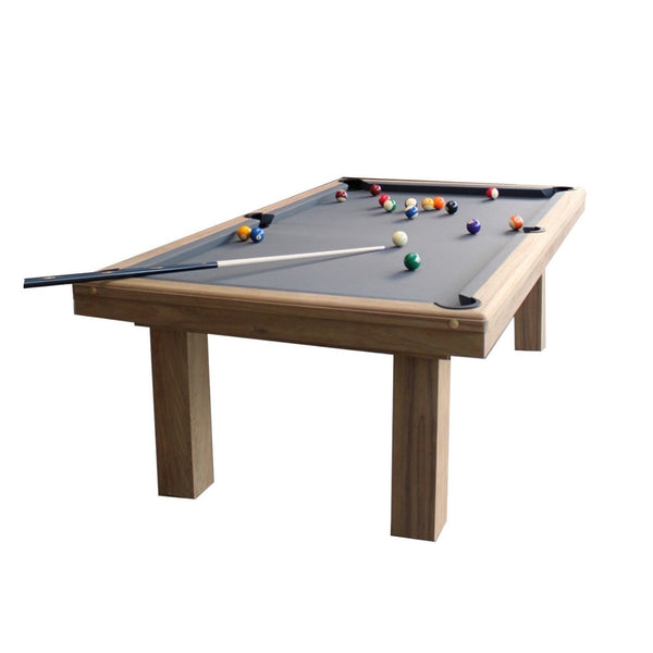 Toulet outdoor teck 10ft snooker table billiards boutique for 10 foot snooker table