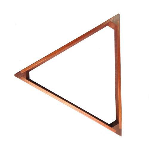 Triangles - Mahogany American Pool Triangle - 2¼""
