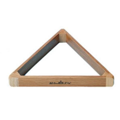 Triangles - Solid Oak Snooker Triangle - 2 1/16""