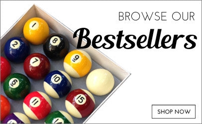 Billiards Boutique bestsellers