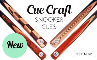 New Cue Craft Snooker Cues