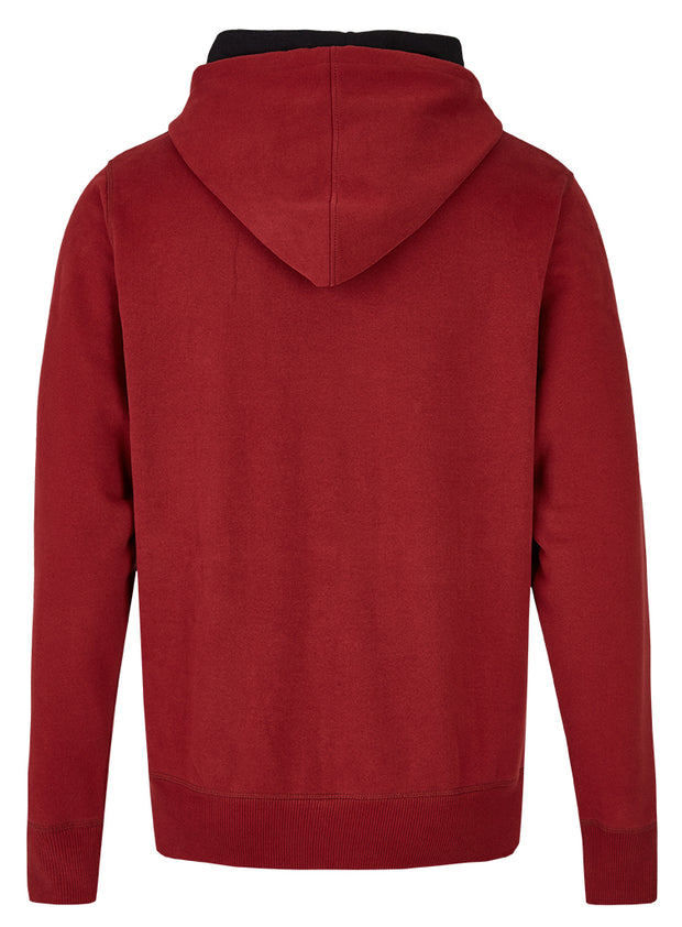 DreamHack High Collar Hoodie (Burgundy)