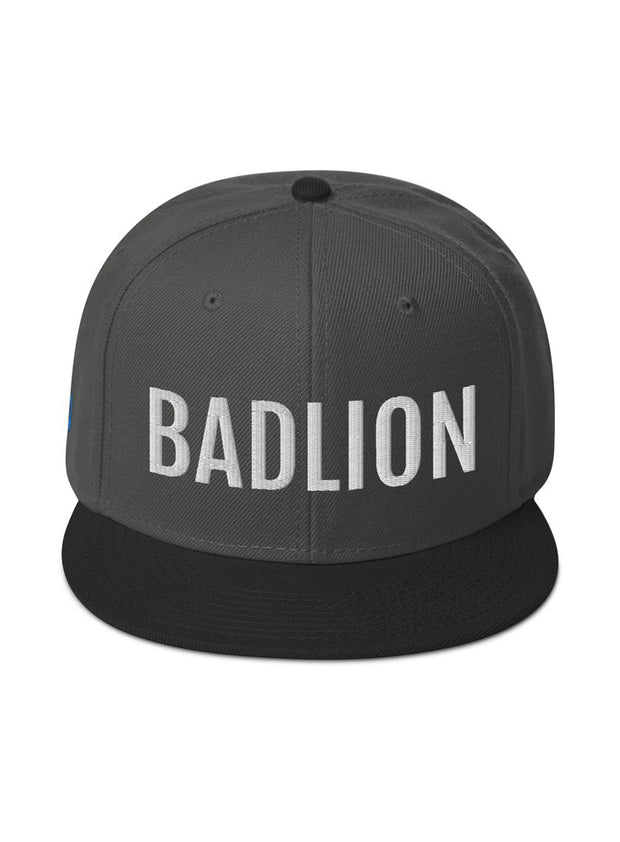 Badlion Two Tone Snapback Hat Black / Charcoal gray