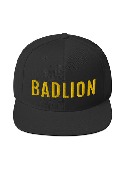 Badlion Snapback Hat Black