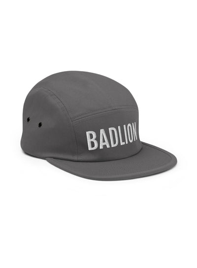 Badlion Five Panel Cap Grey