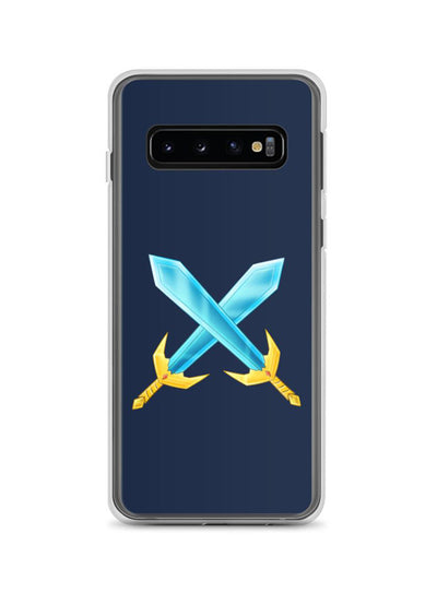 Badlion Samsung Case Crossed Swords Navy