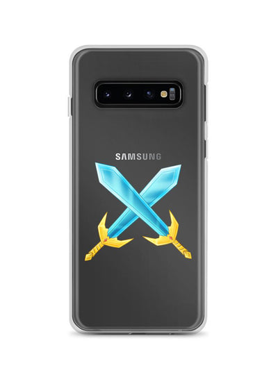Badlion Samsung Case Crossed Swords transparent