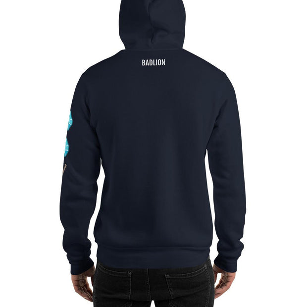 Badlion Crossed Swords Hoodie Navy