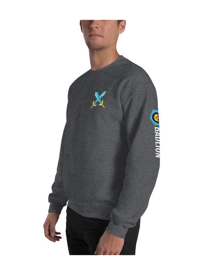 Badlion Crossed Swords Sweatshirt Dark Grey