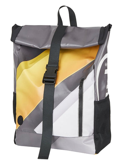 ESL History Backpack -  Grey w/ White + Yellow accents
