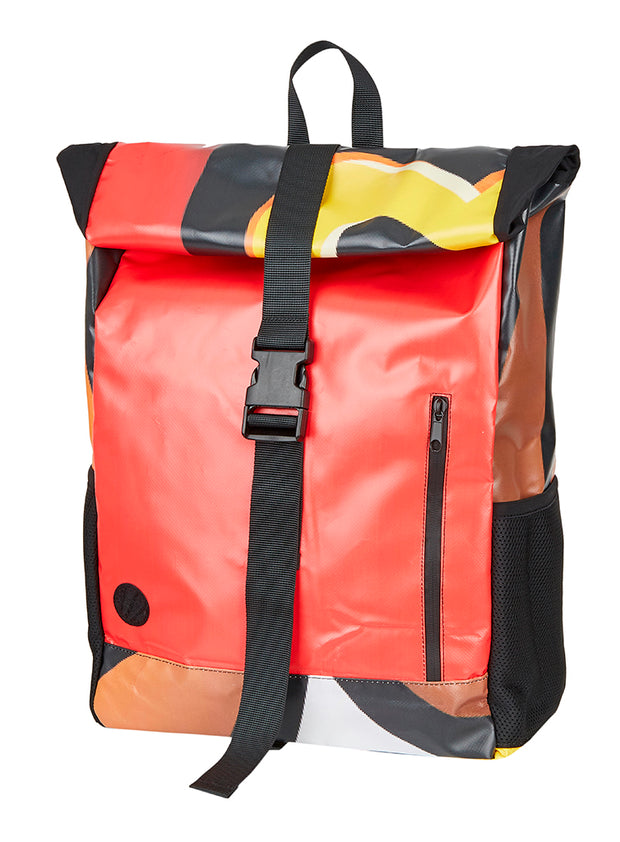 ESL History Backpack - Red + Black (bits of Yellow)