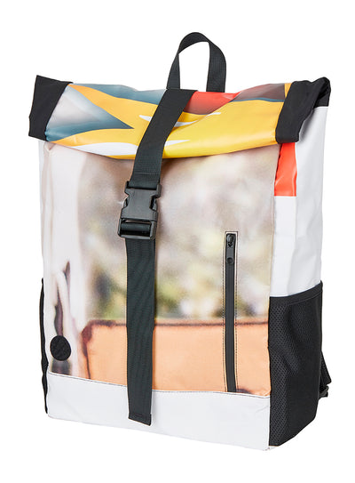 ESL History Backpack -  Multicolour/fotoprint