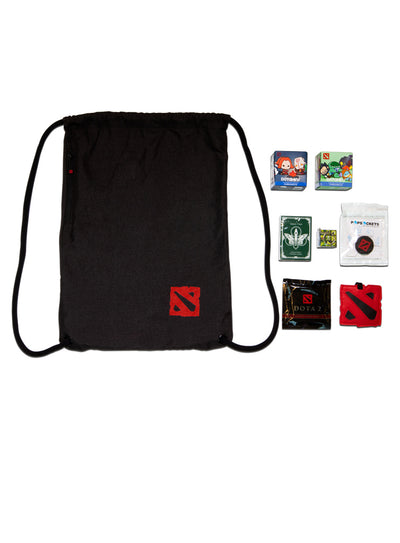 Dota2 The International 8 Swag Bag black
