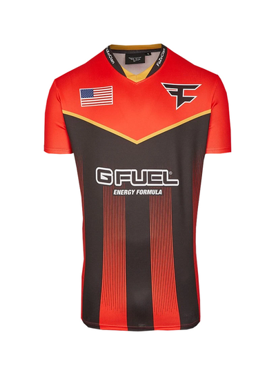 Faze Player Jersey Red