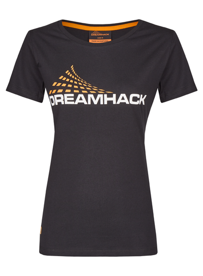 DreamHack Original female T-shirt (Black)