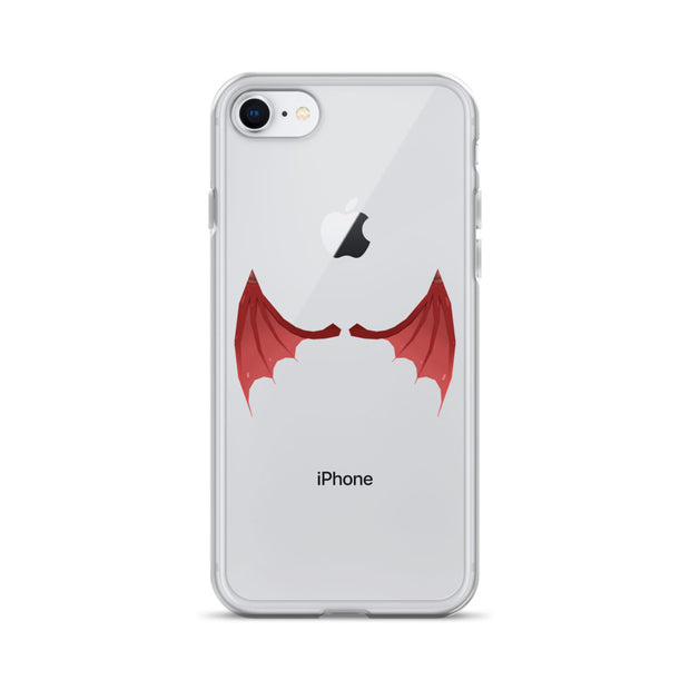 Badlion iPhone Case Devil Wings transparent