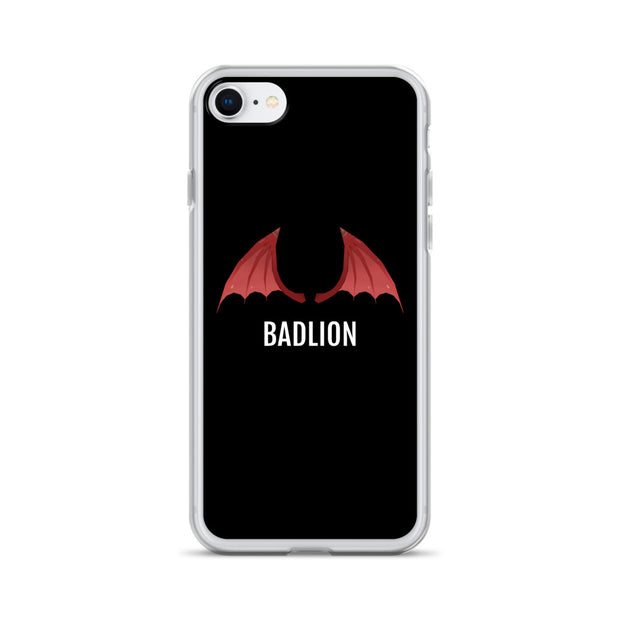Badlion iPhone Case Devil Wings Black