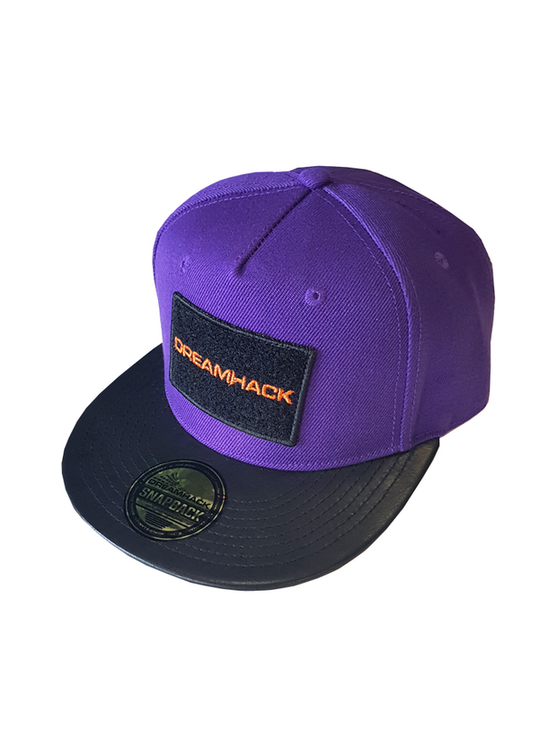 DreamHack Purple Velcro Snapback