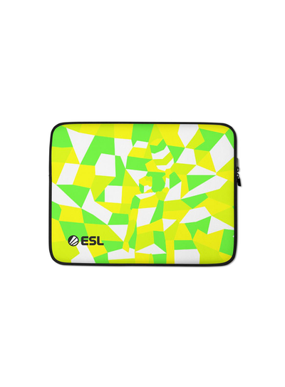 ESL In Color Laptop Sleeve Hidden Worlds
