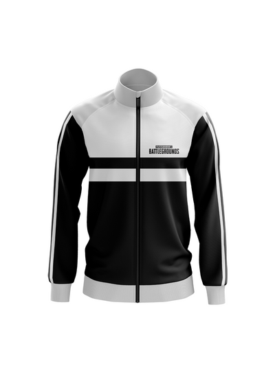 PUBG Black & White Sports Jacket