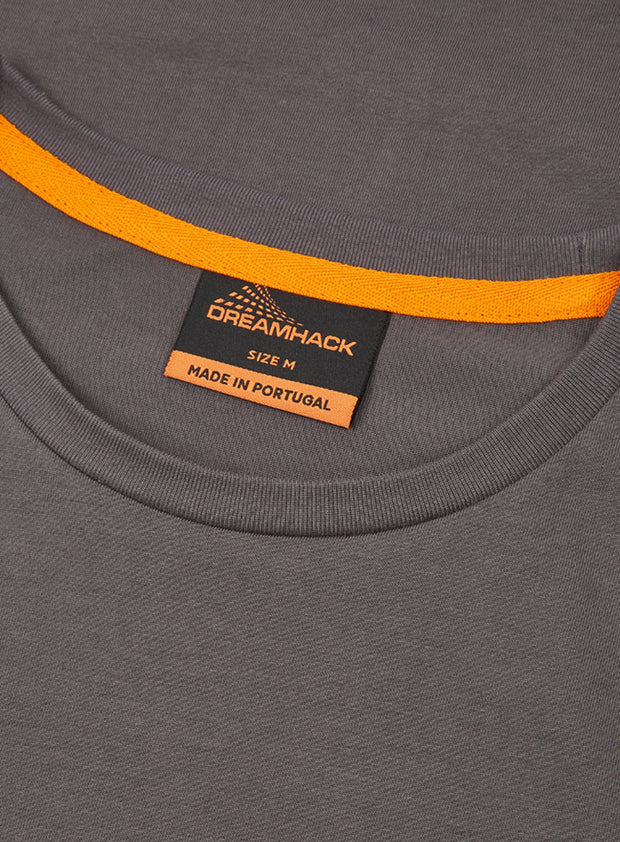 DreamHack Original T-Shirt (Dark Grey with black logo)