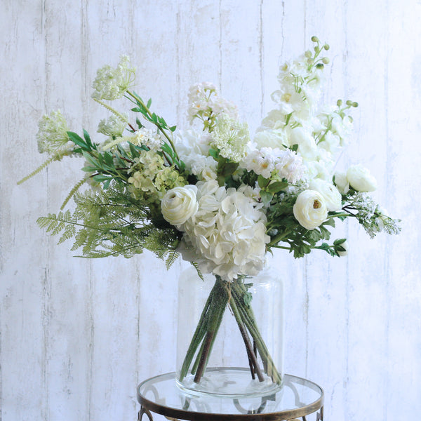 berries & blossom - realistic artificial flowers