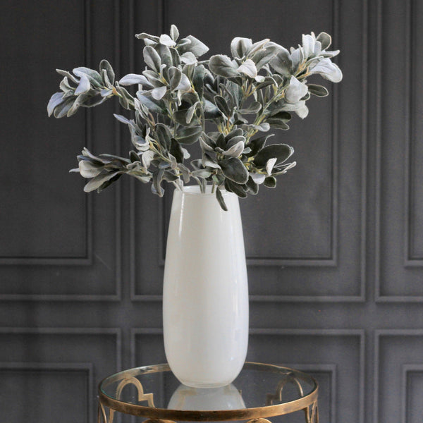 artificial flowers luxury faux silk silver lambs leaf bunch of 6 lifelike realistic faux flowers buy online from Amaranthine Blooms Hong Kong UK