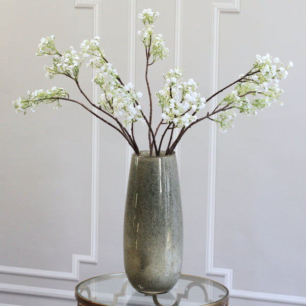 luxury artificial fake silk flowers white gypsophilia bunch lifelike realistic faux flowers buy online from Amaranthine Blooms Hong Kong UK