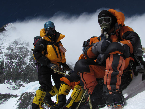 Tim Mosedale - Everest Expedition