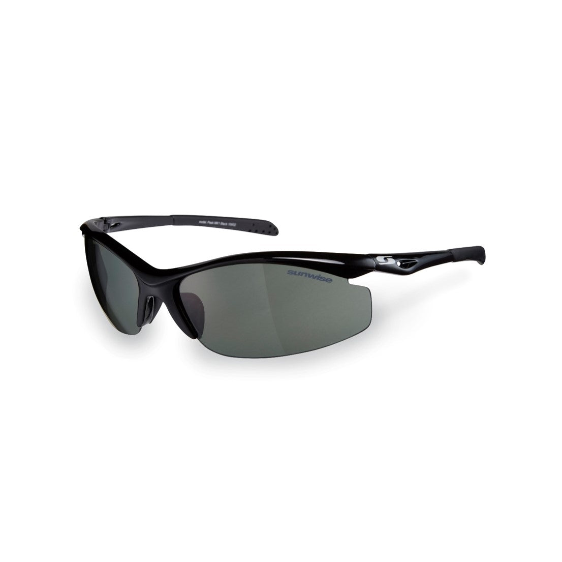 Sunwise - Peak Mk 1 Black - Sports & Outdoor Activity Sunglasses by Sunwise PghSn