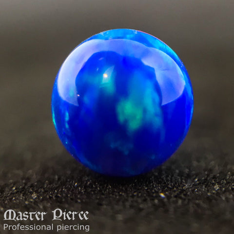 4MM Dark Blue Opal Captive Bead