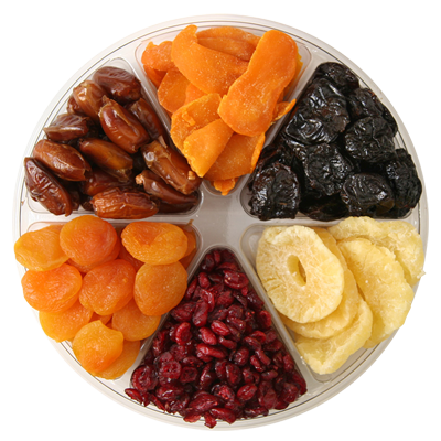 6 Section Dried Fruit Platter