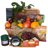Fruit & Cheese Gift Basket