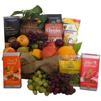 Fruit & Coffee Gift Basket