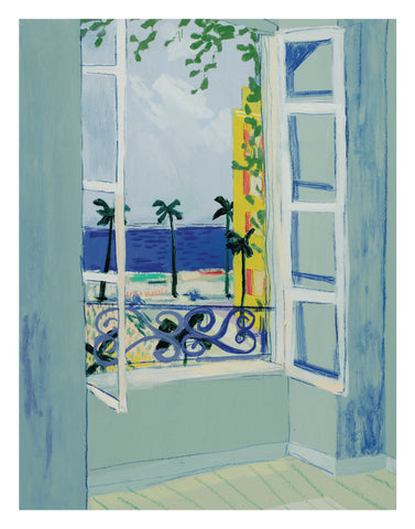 """Window of Nice"" PRINT"