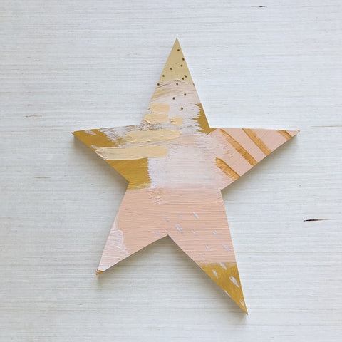 Gold Star Topper Medium 9