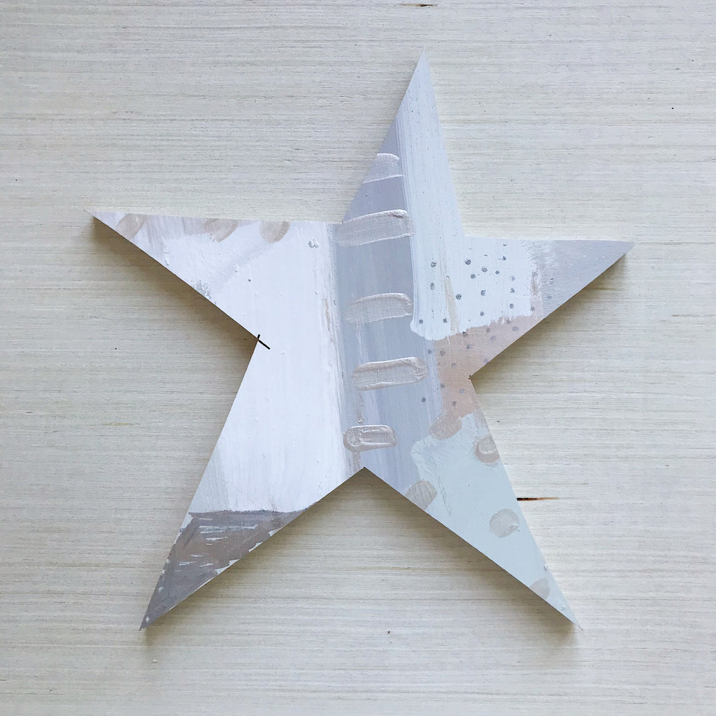 Silver Star Topper Large 2