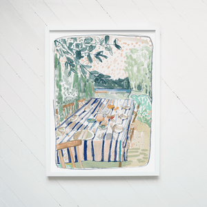 """By The Sea"" Print"