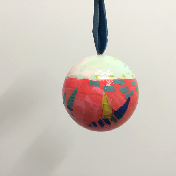 Merry Little Christmas Ornament 9
