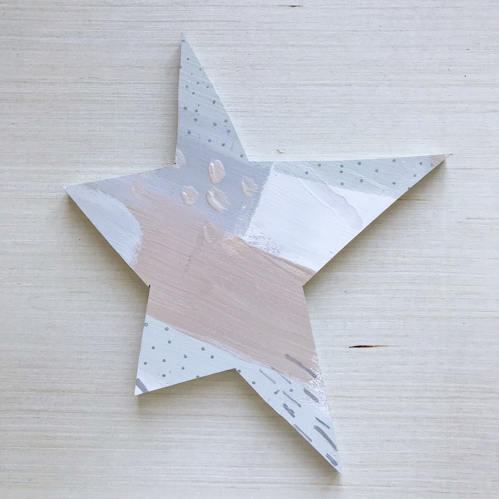 Silver Star Topper Large 3