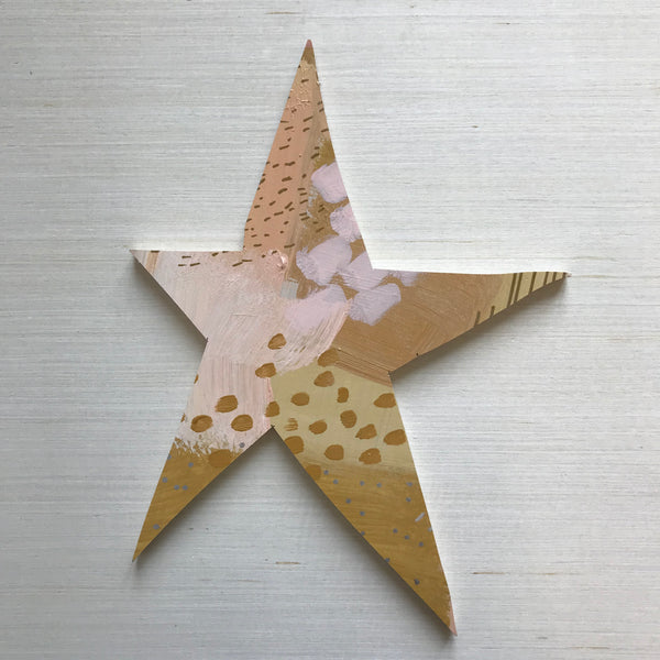 Gold Star Topper Large 5