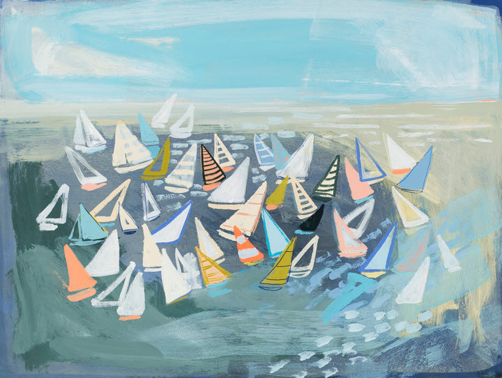 """Mixed Regatta"" PRINT"