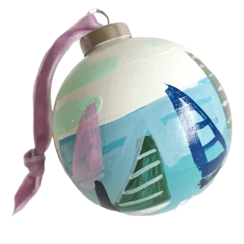 Regatta Ornament 9