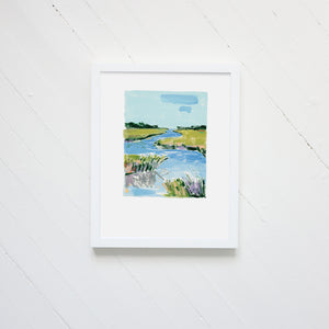 "*NEW* ""Seaside Vignette"" Print"