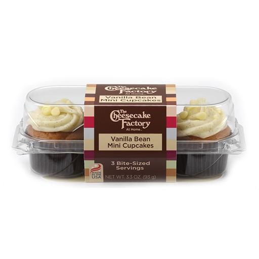 The Cheesecake Factory, Mini Cupcakes, Vanilla Bean