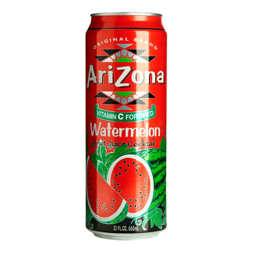 Arizona, Watermelon Fruit Juice Cocktail, Can